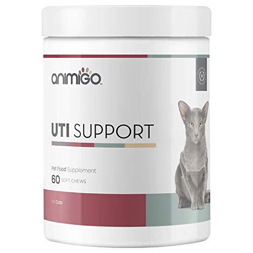 Harnwegsinfektion Unterstützung Leckerlies für Katzen - Bei Blasenentzündung Ihrer Katze, Mit Cranberry, Grüner Tee und D-Mannose, Urin Hilfe, UTI, Urinary Tabletten mit Enzymen - 60 Cat Snacks