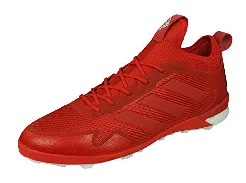 Adidas Ace Tango 17.1 TF, Zapatillas de fútbol Sala para Hombre, Rojo (Rojo/Escarl/ftwbla), 41 EU