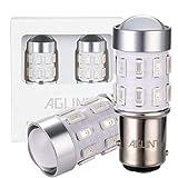 AGLINT 1157 LED Luci Dei Freni BAY15D P21 5W Lampadine LED 24SMD 5630 LED Lampadine 1016 1034 LED Bulbi Utilizzato per Luci Dei Freni Rosso