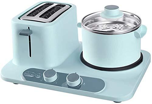 Jszzz Inicio máquina de Pan for Hornear Desayuno Máquina automática Multifonctionnel Tostadora 2 Piezas