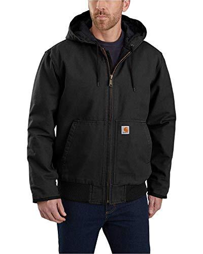 Carhartt Herren Duck Active Jacket, Schwarz, M EU