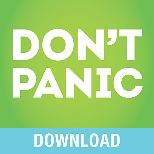 Don't Panic! audiobook cover art