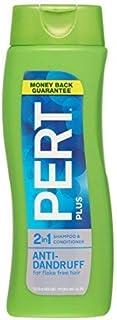 Pert Plus 2 in 1 Shampoo + Conditioner Dandruff Control 13.5 Fl Oz / 400 Ml (Pack of 3)