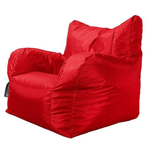Big Bertha Original - Indoor & Outdoor - LARGE Garden Armchair Bean Bag - RED