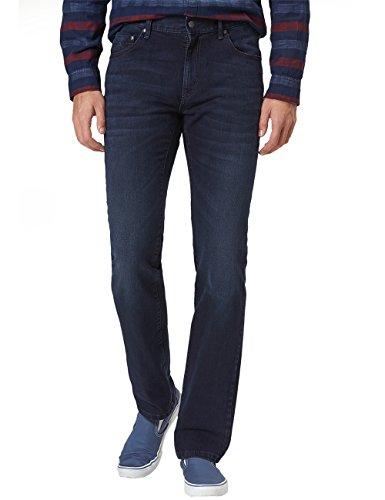 Pioneer Herren Rando Straight Jeans, Blau (Dark Used with Buffies 447), 31W / 32L