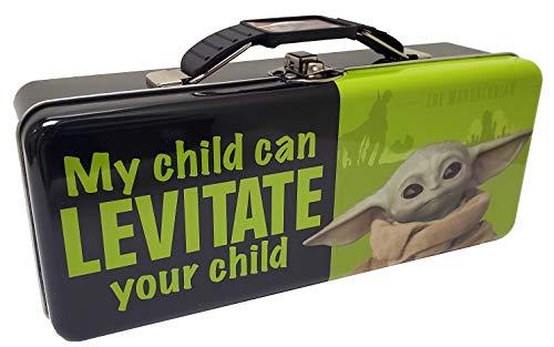 The Tin Box Company'The Child' (Baby Yoda) Pencil Box, Model Number: 349407-12