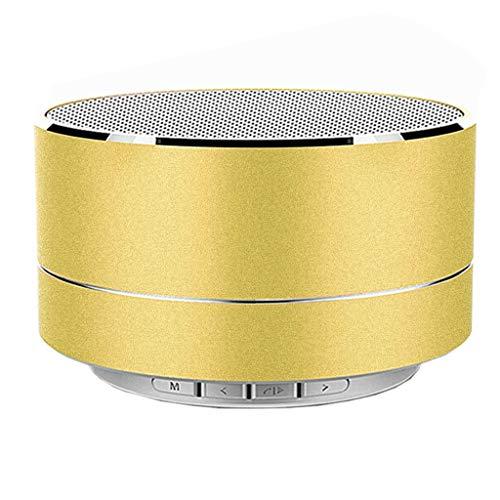 Lautsprecher Bluetooth Smart Bluetooth-kreative Creative Bluetooth-Lautsprecher Computer Audiokartenlautsprecher Metall Neuer drahtloser Subwoofer Bluetooth-Lautsprecher LED Wirelwss Bass Tragbare