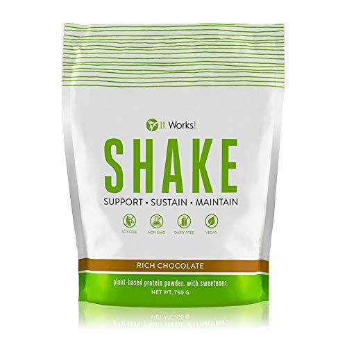Shake – cioccolato intenso   Proteine vegetali   Proteine in polvere a base di piante   It Works
