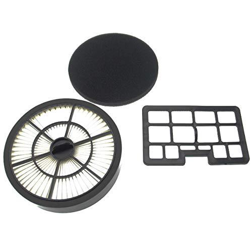 vhbw Filter-Set (2 Stück) Ersatz für Privileg 177190, 364336, 457630, 725213 Filter für Staubsauger, Kombi-Filter + Abluft-Filter