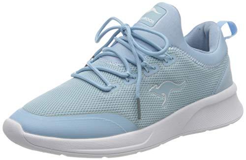 KangaROOS Damen KF-A Glide Sneaker, Blue Sky 4135, 40 EU