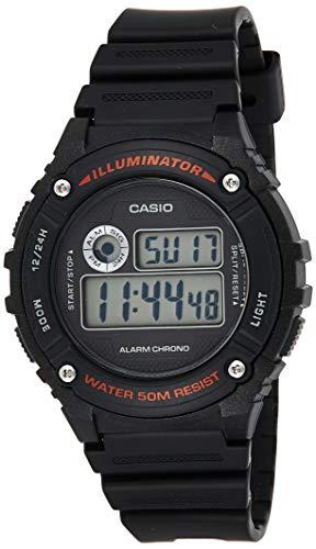 Casio Reloj de Pulsera W-216H-1AVEF