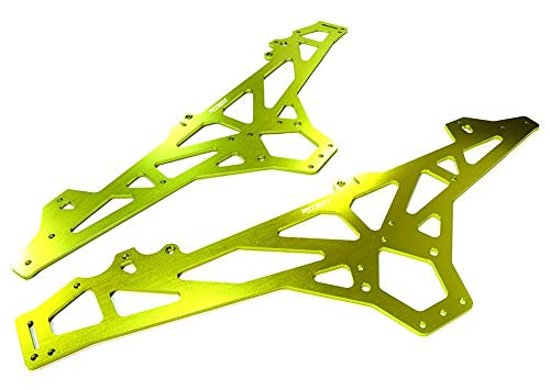 Integy RC Model Hop-ups C26394GREEN Billet Machined Main Chassis for HPI 1/10 Scale Crawler King