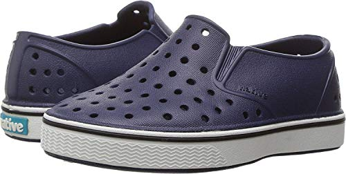 Native Shoes - Miles Child, Regatta Blue/Shell White, C9 M US