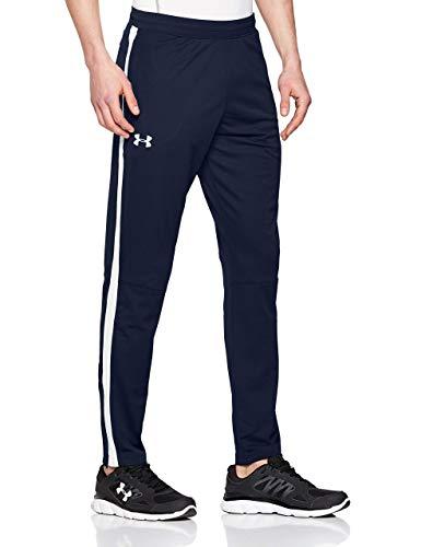 Under Armour Sportstyle Pique Track Pants, Pantaloni Uomo, Blu (Academy White 408), L