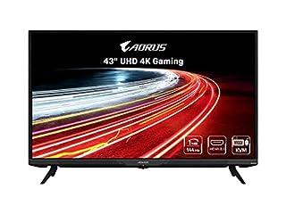 "AORUS FV43U 43"" 144Hz 2160p HBR3, NVIDIA G-SYNC Compatible, Exclusive Built-in ANC, KVM, 3840x2160 Display, 1ms Response Time, HDR, 96% DCI-P3, 1x DisplayPort 1.4, 2X HDMI 2.1, 2X USB 3.0, 1x USB C (B0947K1VRX) | Amazon price tracker / tracking, Amazon price history charts, Amazon price watches, Amazon price drop alerts"