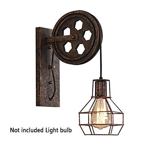RAQ gang wandlamp Iron Loft Cafe woonkamer lantaarn lampen wandlamp licht verstelbaar roest