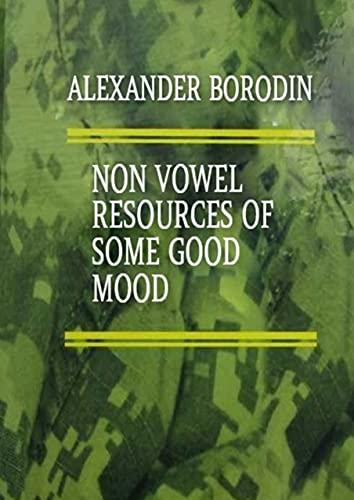 Non vowel resources ofsome goodmood (English Edition)