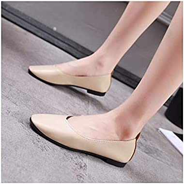 Liliduo 2019 Fashion Wild Simple New Women's Shoes Shallow Mouth Women's Shoes