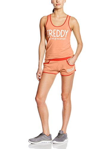 Freddy Trainingsoutfit Koralle/rot XS