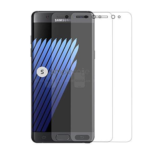 Simplecase Panzerglas passend zu Samsung Galaxy S8 , Premium Bildschirmschutz , Schutz durch Extra Festigkeitgrad 9H , Hülle Friendly , Echtglas / Verb&glas / Panzerglasfolie , Transparent - 2 Stück