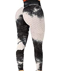 ♥Style-Sexy butt lift push up high waisted leggings for women, lifting yoga pants,Textured Activewear ; gym shapewear tights, workout running pants, skinny pants booty scrunch leggings. cheeky buttocks, hips lifting athletic lined versital pants for ...