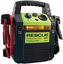 Emergency Air Compressor Jump Starter 900 Peak Amp Quick Cable Rescue Pack