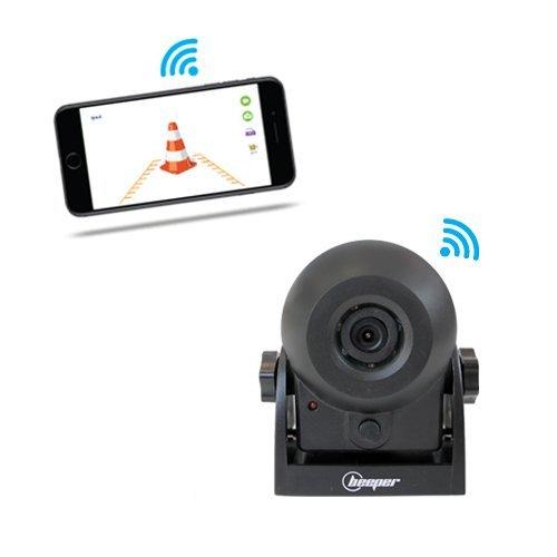 Achteruitrij- en bewakingscamera, WIFI, H1WIFI Beeper.