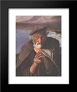Old Fisherman 20x24 Framed Art Print by Tivadar Kosztka Csontvary