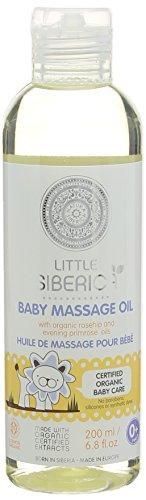 Natura Siberica Huile de Massage pour Bébés Little Siberica 200 ml
