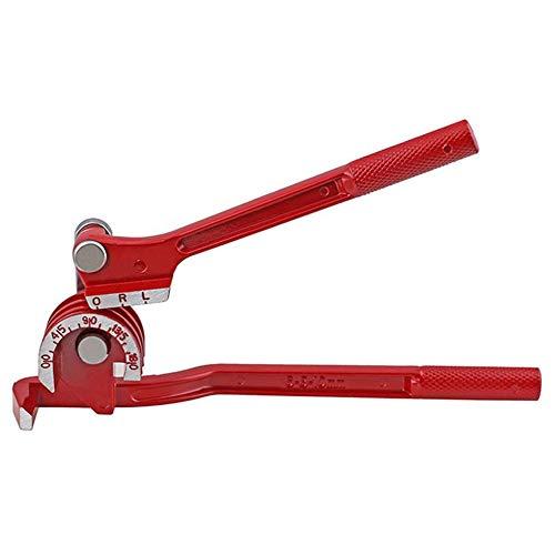 KKmoon Mini Rohrbieger 3 in 1 180 ° Hochleistungs Biegezange Bremsleitung Durchmesser von 6-8-10 mm Tube Bender Spezial Werkzeug
