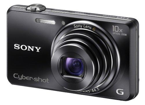 Sony DSC-WX100 3D Camera Black 18MP 10xZoom 2.7LCD FHD 25mm Sony G Wide Lens (Importado)