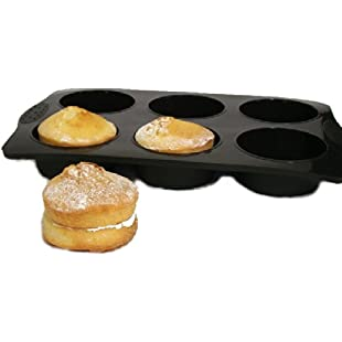 WellBake Silicone JUMBO Extra Large Non-stick Muffin Tray