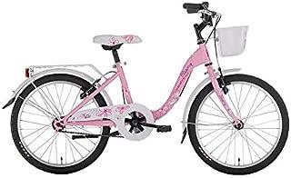 BLOOMY - Bicicleta para niña, 20 Pulgadas, 7/9 años, Color Rosa