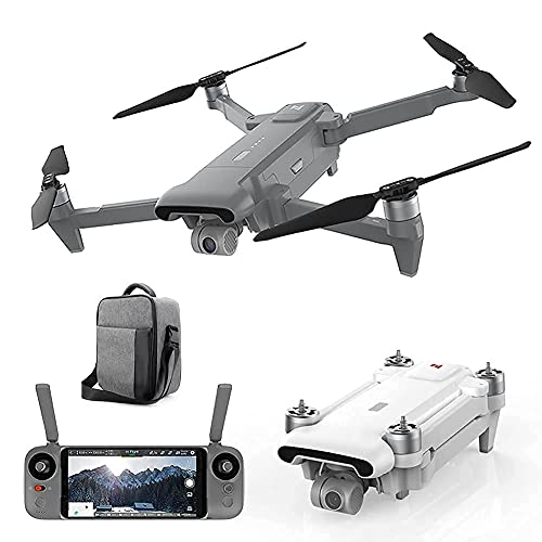 Daily Accessories Drone GPS Drone with 4K UHD Camera for Adults FPV Quadcopter with Auto Return Home Headless Mode Follow Me Altitude Hold Tap Fly Functions Includes Batteries And Carrying Backpack