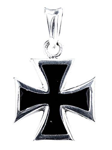 Kiss of Leather EK Kreuz Anhänger aus 925 Sterling Silber Nr. 39