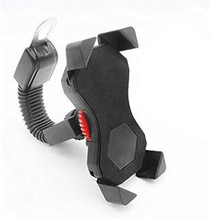 comprar comparacion Soporte Movil Moto,FEYG Soporte GPS Moto Accesorios Universal y 360 Rotación Compatible con 3,5 a 6,5 pulgadas para teléfo...