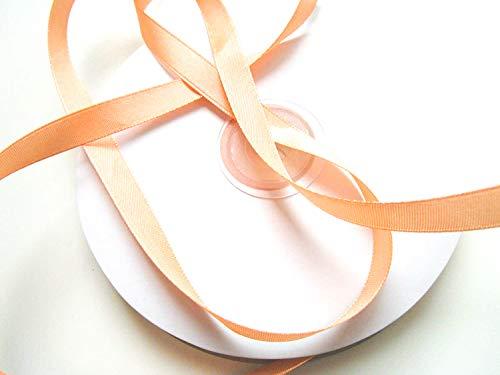 CaPiSo® 50 m Satin-Schleifenband in 10 mm Breite 1 cm (Apricot)