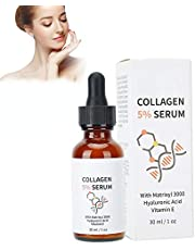 Moisturizing Serum, Face Serum, Moisturizing Firming Collagen Anti-Aging Serum Skin Whitening Nourishing Repair Solution 30ml