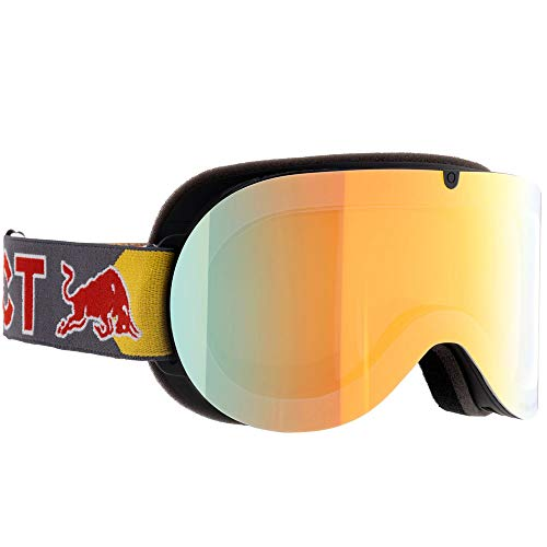 Red Bull Spect Eyewear Goggle Schneebrille Bonnie-006 Black/Chrom-X