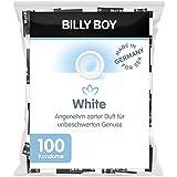 Billy Boy White Kondome – transparente Kondome mit besonders angenehmem Duft, 100-Stück