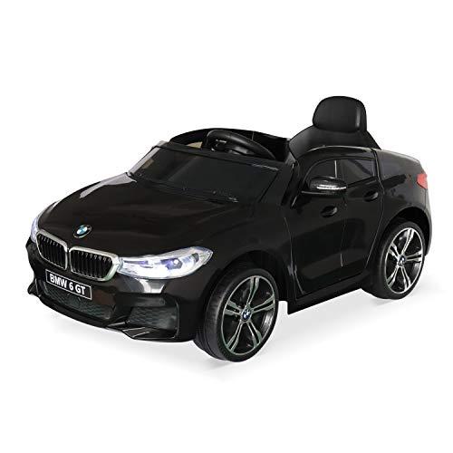Alice's Garden BMW Série 6 GT Gran Turismo Noire, Voiture électrique pour Enfants 12V 4 Ah, 1...