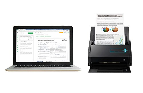 Fujitsu CG01000-289301 ScanSnap iX500 Document Scanner with Evernote Premium (1 Year License and Warranty)