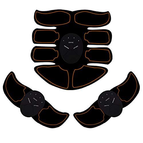 Abs Trainer Spierstimulator ABS Heuptrainer EMS Buikgordel Elektrostimulator Spiertraining Thuis Fitnessapparatuur Elektrostimulatie EMS Spierstimulator Power Roller Ab Trainer Vetverbrander