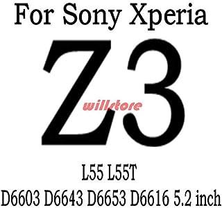 جرابات الهاتف - جراب واقي للشاشة من الزجاج المقوى لهاتف سوني إكسبيريا Z2 Z3 Z4 Z5 MINI E3 E4 E5 E4G S SL LT26i ZR M36H SP ...