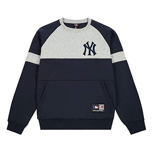 Majestic Sudadera Bedric Small Logo Crew Sweat New York Yankees - XL turquesa X-Large