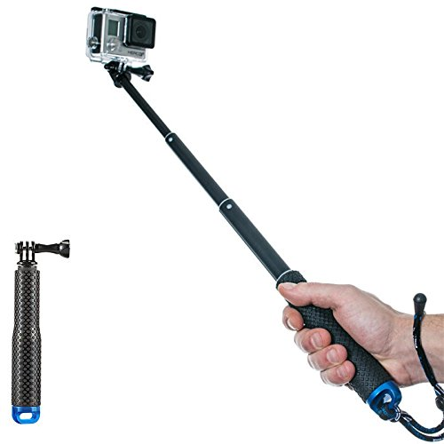 SIKAMI Selfie Stick Monopod Handle Grip Mount for Gopro Hero7 Black DBPOWER EX7000/DBPOWER N5 4K/N5 Pro Action Camera/Campark ACT74 Action Camera