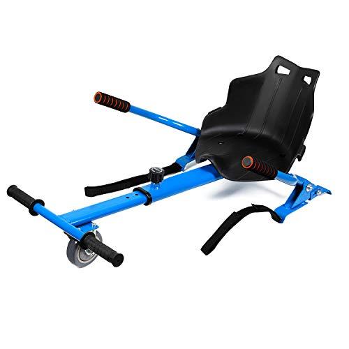 Huanhui Hoverkart Go-Kart Réglable für Kinder Hoverseat Kinderversion für Self-Balancing Elektro Scooter Compatible mit 6,5/8,5/10 Zoll Hoverboard