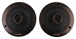 Nippon Power NFC- 1601 Dual Cone Inside Car Speaker Box for All Vehicles (Black),Nippon,NFC- 1601