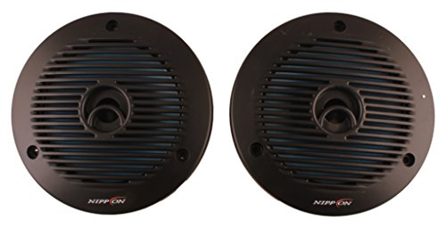 Nippon Power NFC- 1601 Dual Cone Inside Car Speaker Box for All Vehicles (Black)