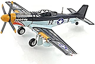 North American P-51 Mustang Metal Desk Model 12